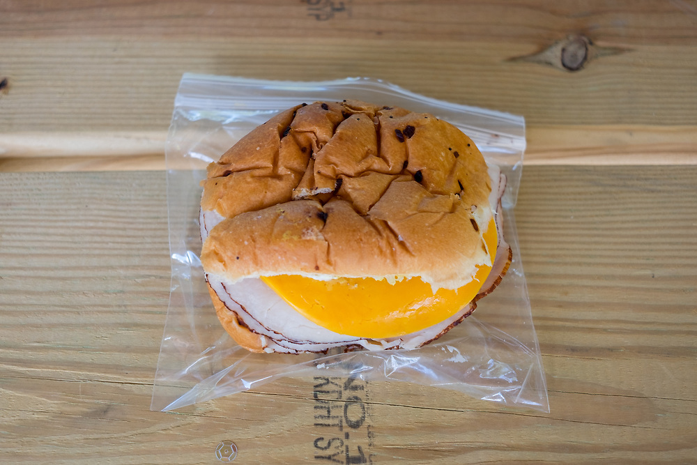 Turkey & Cheese Sandwich at Seneca Rocks State Park (CODFREE) - OFF: WV