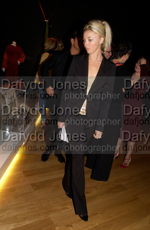 Tamara Beckwith, Party hosted by Alexandra Shulman, Rupert Hambro and Prof  Jack Lohman to open 'The London Look, Fashion from Street to Catwalk', Museum of London. ONE TIME USE ONLY - DO NOT ARCHIVE  © Copyright Photograph by Dafydd Jones 66 Stockwell Park Rd. London SW9 0DA Tel 020 7733 0108 www.dafjones.com