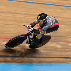 29-12-2019: Wielrennen: NK Baan: Alkmaar <br />Sam Ligtlee werd tweede op de kilometer