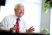 Photographs of Baker, Newman and Noyes principal Vinal Doody at Portland Maine offices on 9/23/11.