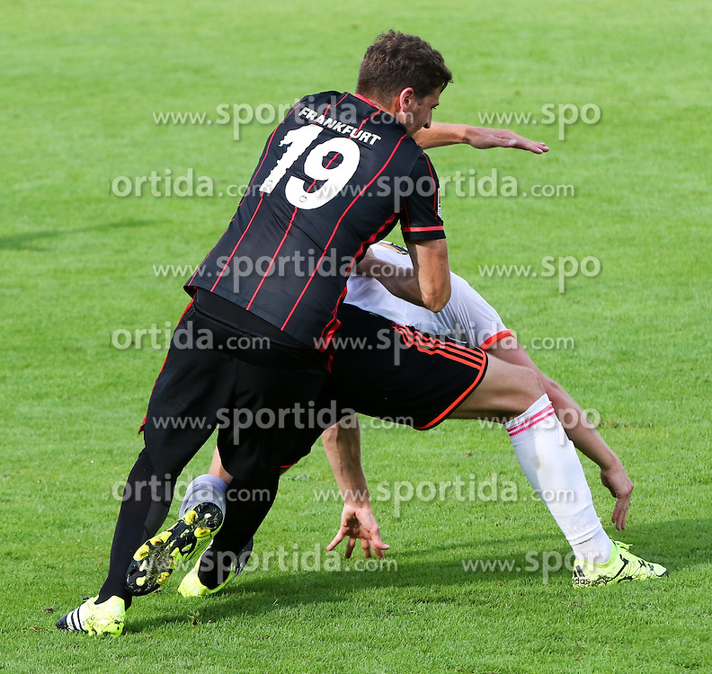 25.07.2015, Joiner Arena, Irdning, AUT, Testspiel, FC Fulham vs Eintracht Frankfurt, im Bild David Abraham (Eintracht Frankfurt, #19) // during a international friendly football match between FC Fulham and Eintracht Frankfurt at the Joiner Arena, Irdning, Austria on 2015/07/25. EXPA Pictures © 2015, PhotoCredit: EXPA/ Martin Huber