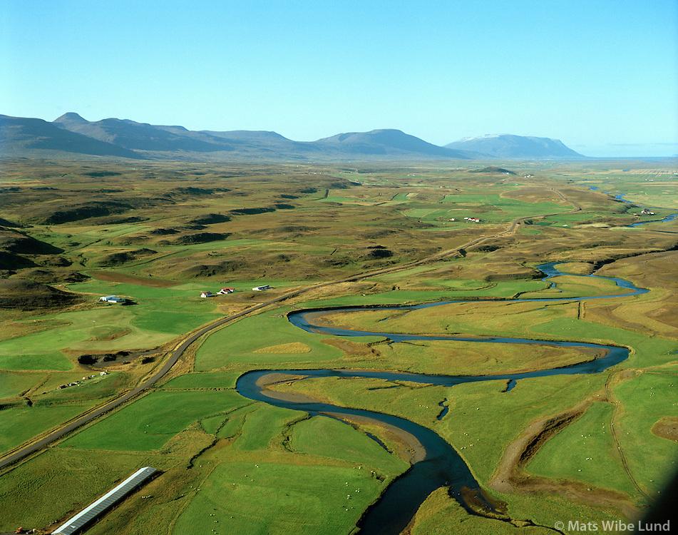 Reykjavellir séð til norðurs, Lýtingsstaðahreppur / Reykjavellir viewing north, Lytingsstadahreppur