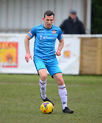 CRAIG STANLEY KETTERING TOWN, St Ives Town v Kettering Town Evostik League Southern Premier Division Central, Saturday 16th February 2019<br /> Score 1-2