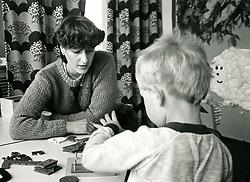 Preschool nursery, Nottingham UK 1985