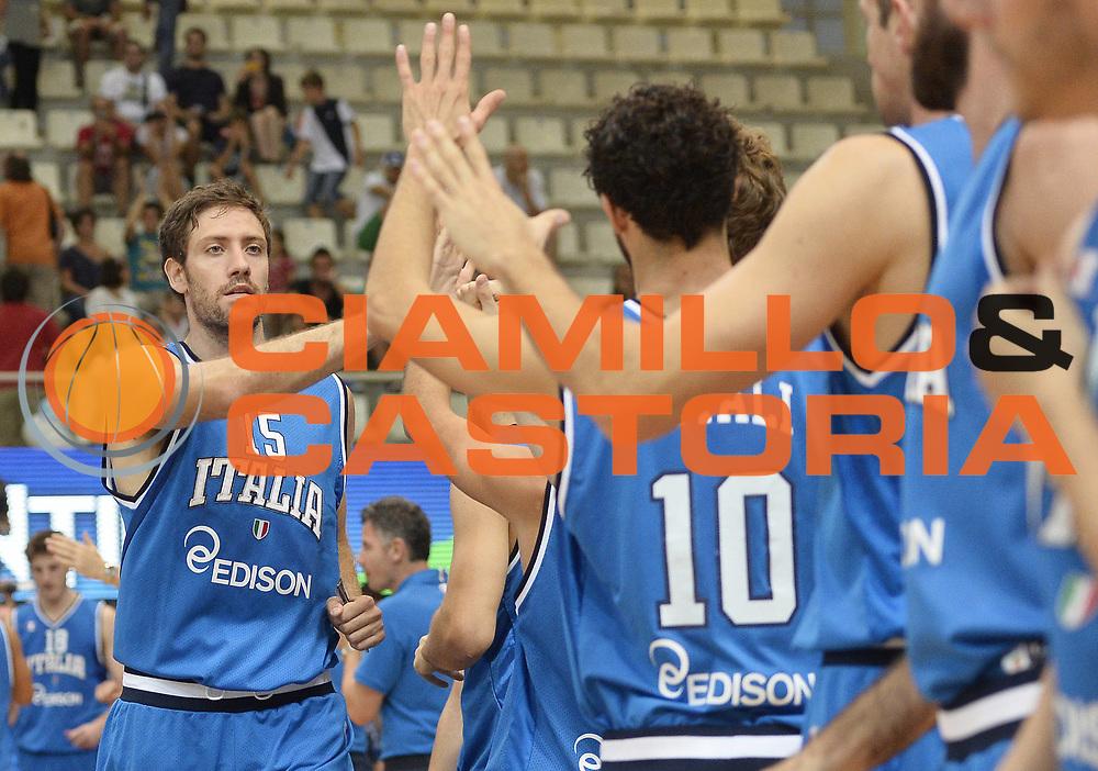 DESCRIZIONE : Trentino Basket Cup Italia-Polonia<br /> GIOCATORE : Angelo Gigli<br /> CATEGORIA : before<br /> SQUADRA : Nazionale Italiana<br /> EVENTO : Trentino Basket Cup<br /> GARA : Italia-Polonia<br /> DATA : 09/08/2013<br /> SPORT : Pallacanestro <br /> AUTORE : Agenzia Ciamillo-Castoria/R. Morgano<br /> Galleria : FIP nazionali 2013  <br /> Fotonotizia : Trentino basket cup Italia-Polonia<br /> Predefinita :
