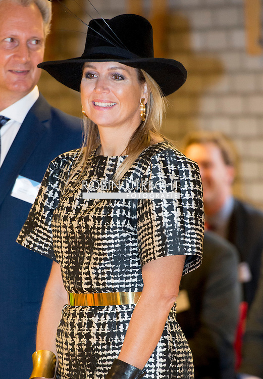21-11-2014 - JOURE - Queen Máxima opens on Friday, November 21, 2014 Community School in South Joure Joure in the municipality of Frisian Lakes. COPYRIGHT ROBIN UTRECHT