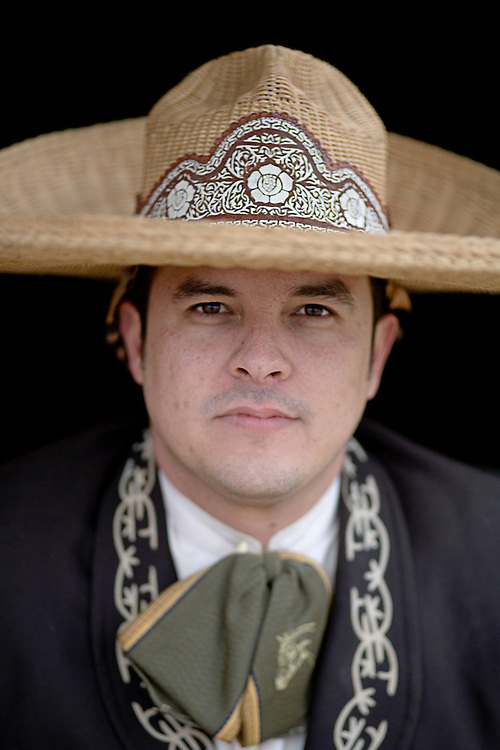 Photo by Julia Robinson.Tommy Cervantes, charro.