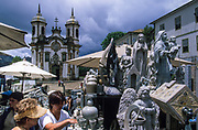 Ouro Preto, São Francisco de Assis, 81765) church: no other contains more work by Aleijadinho