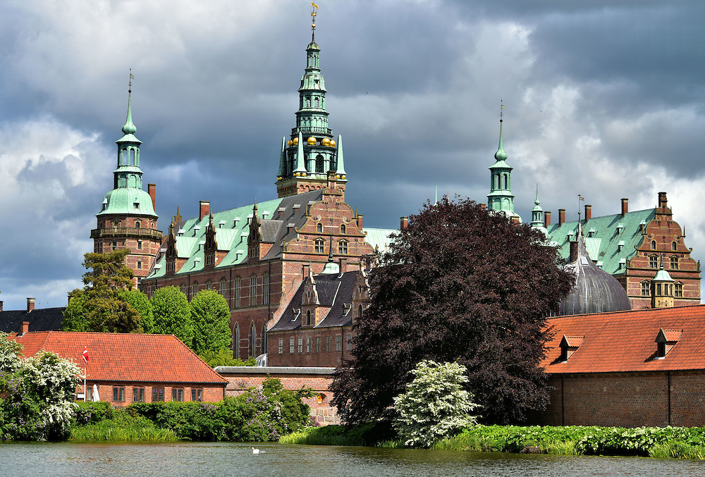 Brief History at Frederiksborg Castle in Hiller&oslash;d, Denmark   <br />