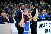 DESCRIZIONE : Varese Lega A 2014-2015 Openjob Metis Varese Banco di Sardegna Sassari<br /> GIOCATORE : Gianmarco Pozzecco Roberto Begnis arbitro<br /> CATEGORIA : delusione arbitro<br /> SQUADRA : Openjob Metis Varese arbitro<br /> EVENTO : Campionato Lega A 2014-2015<br /> GARA : Openjob Metis Varese Banco di Sardegna Sassari<br /> DATA : 26/12/2014<br /> SPORT : Pallacanestro<br /> AUTORE : Agenzia Ciamillo-Castoria/Max.Ceretti<br /> GALLERIA : Lega Basket A 2014-2015<br /> FOTONOTIZIA : Varese Lega A 2014-2015 Openjob Metis Varese Banco di Sardegna Sassari<br /> PREDEFINITA :
