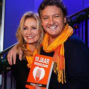 NLD/Hilversum/20121207 - Skyradio Christmas Tree, Rene Froger en partner Natasja Kunst