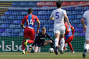 Kamil Miazek of Leeds United U23 during the U23 Professional Development League match between U23 Crystal Palace and Leeds United at Selhurst Park, London, England on 15 April 2019.