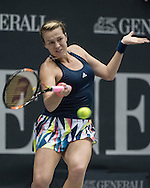 Anastasia Pavlyuchenkova (RUS) during the quarter finals of the WTA Generali Ladies Linz Open at TipsArena, Linz<br /> Picture by EXPA Pictures/Focus Images Ltd 07814482222<br /> 14/10/2016<br /> *** UK &amp; IRELAND ONLY ***<br /> <br /> EXPA-REI-161014-5006.jpg