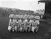 29/03/1958<br /> 03/29/1958<br /> 29 March 1958<br /> F.A.I. Cup Semi-Final: Shamrock Rovers v St. Patricks Athletic at Dalymount Park, Dublin. The Shamrock Rovers team.