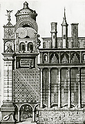 'The Temple of Music, divine and natural.  From ''Utriusque cosmi ... historia'' , Oppenheim, 1617-1619, by Robert Fludd.'