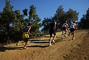 Oct, 20, 2006; Walnut, CA, USA; Runners race up poopout hill over the 2.91-mile course in the 59th Mt. San Antonio College Cross Country Invitational.