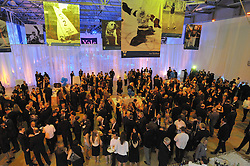 Overview of The Blue Leadership Ball 2009, Yale University Department of Athletics. Lanman Center.