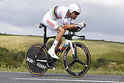 Tom Dumoulin (NED - Team Sunweb) during the 105th Edition of Tour de France 2018, cycling race stage 20, time trial, Saint Pee sur Nivelle - Espelette (31 km) on July 28, 2018 in Espelette, France - Photo Luca Bettini / BettiniPhoto / ProSportsImages / DPPI