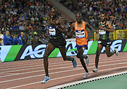 Paul Chelimo (USA) and Richard Yator (KEN) place sixth and seventh in the 5,000m in 12:57.55 and 12:59.44 in the 43nd Memorial Van Damme in an IAAF Diamond League meet at King Baudouin Stadium in Brussels, Belgium on Friday,August 31, 2018. (Jiro Mochizuki/Image of Sport)