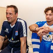 NLD/Zwolle/20180418 - Johnny de Mol onthult de nieuwe Eredivisiebal, John van 't Schip en ...........