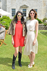 Left to right, CHARLOTTE STOCKDALE and MARGO STILLEY at the Cartier hosted Style et Lux at The Goodwood Festival of Speed at Goodwood House, West Sussex on 26th June 2016.