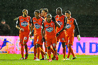 Joie Wesley SAID / Groupe Laval   - 30.01.2015 - Laval / Troyes  - 22eme journee de Ligue 2<br /> Photo : Vincent Michel / Icon Sport