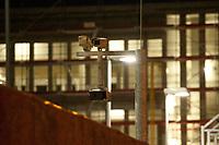 14 JUN 2010, BERLIN/GERMANY:<br /> Kameras sichern die Baustelle fuer den Neubau des Bundesnachrichtendienstes, BND, Chausseestrasse<br /> IMAGE: 20100614-02-013