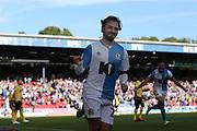 \Blackburn Rovers Bradley Dack celebrates his goal during the EFL Sky Bet Championship match between Blackburn Rovers and Millwall at Ewood Park, Blackburn, England on 14 September 2019.