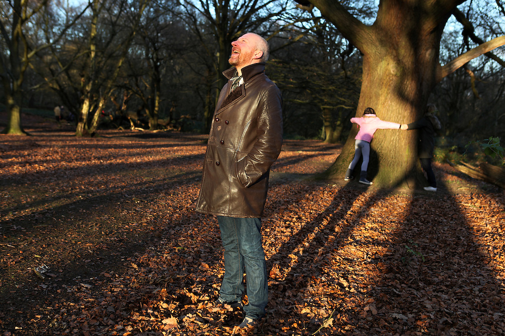 Colin Vearncombe, aka Black, in Hampstead Heath, London, in January 2012