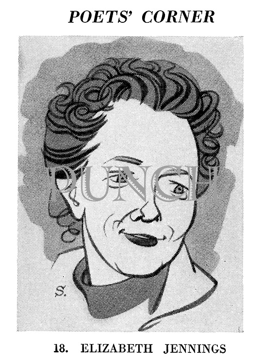 Poets' Corner. 18. Elizabeth Jennings.