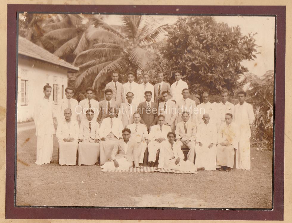 Victor Melder Collection. John Van Rooyen Ragama. 1952