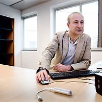 Nederland, Utrecht, 2 juni 2017.<br /> Johannes Jacobus (Jim) van Os (Utrecht, 1960) is een Nederlandse hoogleraar in de psychiatrie, meer specifiek in de psychiatrische epidemiologie. <br /> <br /> <br /> Foto: Jean-Pierre Jans