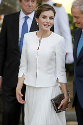06.06.2015, Plaza de la Lealtad, Madrid, ESP, Armed Forces Day Ceremony 2015, im Bild Queen Letizia of Spain // during the Armed Forces Day Ceremony 2015 at the Plaza de la Lealtad in Madrid, Spain on 2015/06/06. EXPA Pictures © 2015, PhotoCredit: EXPA/ Alterphotos/ Acero<br /> <br /> *****ATTENTION - OUT of ESP, SUI*****
