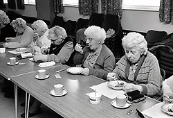 Crabtree lunch club, Nottingham UK 1986