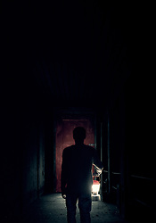 RELEASE DATE: June 9, 2017 TITLE:  It Comes At Night STUDIO: A24 DIRECTOR: Trey Edward Shults PLOT: Secure within a desolate home as an unnatural threat terrorizes the world, a man has established a tenuous domestic order with his wife and son. Then a desperate young family arrives seeking refuge. STARRING: JOEL EDGERTON as Paul. (Credit Image: ? A24/Entertainment Pictures/ZUMAPRESS.com)