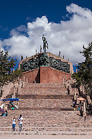 MONUMENTO A LA INDEPENDENCIA (Ernesto Soto Avendaño, 1950), HUMAHUACA, PROVINCIA DE JUJUY, ARGENTINA (PHOTO © MARCO GUOLI - ALL RIGHTS RESERVED)