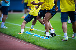 During practice session before football match between NK Domzale and FC Lusitanos Andorra in second leg of UEFA Europa league qualifications on July 6, 2016 in Andorra la Vella, Andorra. Photo by Ziga Zupan / Sportida