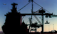 Copyright Jim Rice ©2013 Import/Export.<br /> Port botany.<br /> Sydney.