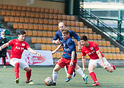 01Team AK vs AiA Kozzies  for  AIA Championship 2017 at Hong Kong Football Club on March 03, 2017 in Hong Kong. <br /> (Photo by Li Man Yuen via MozImages)