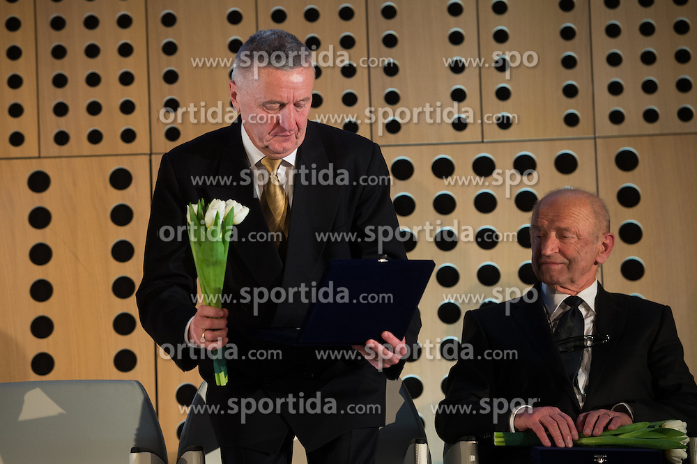 Stanko Kercmar at 52th Annual Awards of Stanko Bloudek for sports achievements in Slovenia in year 2016 on February 14, 2017 in Brdo Congress Center, Brdo, Ljubljana, Slovenia.  Photo by Martin Metelko / Sportida