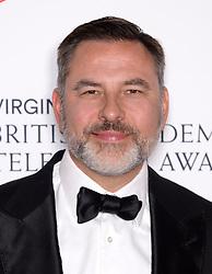 David Walliams in the press room during the Virgin Media BAFTA TV awards, held at the Royal Festival Hall in London. Photo credit should read: Doug Peters/EMPICS