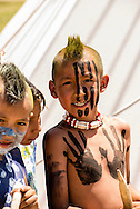 Kids, Indians, Native Americans, Battle of the Little Bighorn Reenactment, Montana