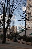France. Paris. 4th district. the cafe Restaurant du pont Louis Phillippe in le Marais