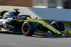 February 28, 2019 - Montmelo, Barcelona, Calatonia, Spain - Daniel Ricciardo of Renault F1 Team seen in action during the 3rd journey of second week F1 Test Days in Montmelo circuit. (Credit Image: © Javier Martinez De La Puente/SOPA Images via ZUMA Wire)