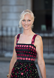 Image ©Licensed to i-Images Picture Agency. 04/06/2014. London, United Kingdom. Royal Academy Summer Exhibition Preview Party. Joely Richardson arrives to the Summer Exhibition Preview Party at the Royal Academy of Arts. Picture by Daniel Leal-Olivas / i-Images