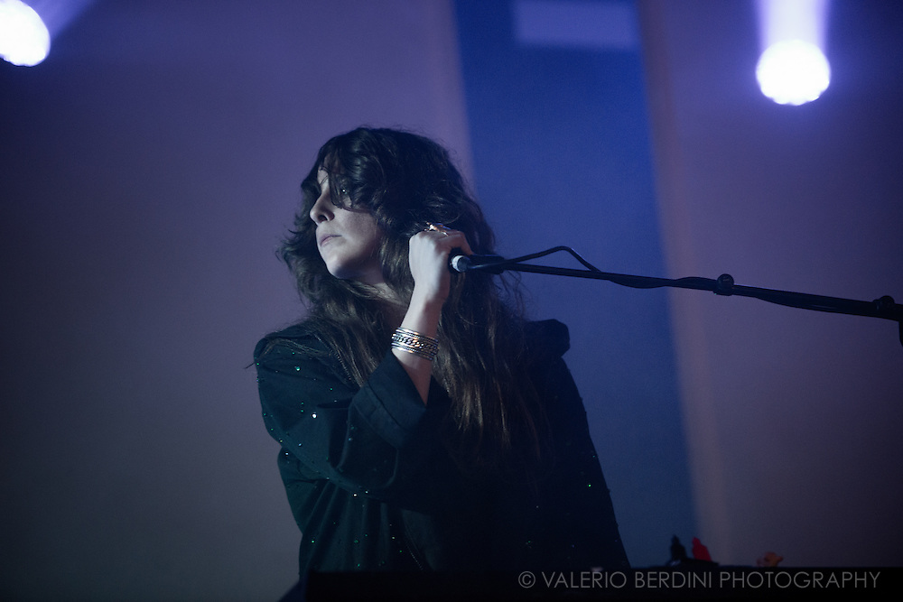 Beach House at Field Day Festival in London on Sunday, 12 June 2016.