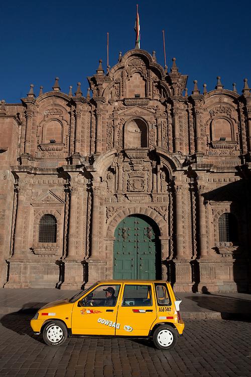 Santa Maria de Jesus church in Cuzco, Peru.