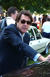 """Singer BRYAN FERRY at a luncheon hosted by Cartier at the 2005 Goodwood Festival of Speed on 26th June 2005.  Cartier sponsored the """"Style Et Luxe' for vintage cars on the final day of this annual event at Goodwood House, West Sussex. <br /><br />NON EXCLUSIVE - WORLD RIGHTS"""