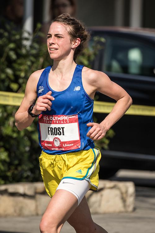 USA Olympic Team Trials Marathon 2016, Leah Frost