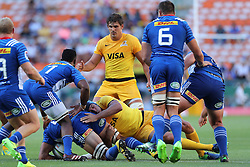 Guido Petti of the Jaguares during the Super Rugby match between DHL Stormers and Jaguares held at DHL Newlands in Cape Town, South Africa on the 4th March 2017.<br /> <br /> Photo by Ron Gaunt/Villar Press